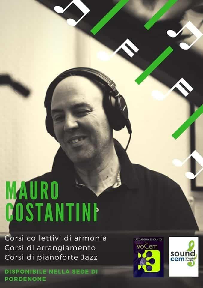 Corso di armonia con Mauro Costantini